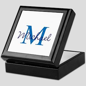 Personalize Initials and Name Keepsake Box