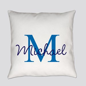 Personalize Initials and Name Everyday Pillow
