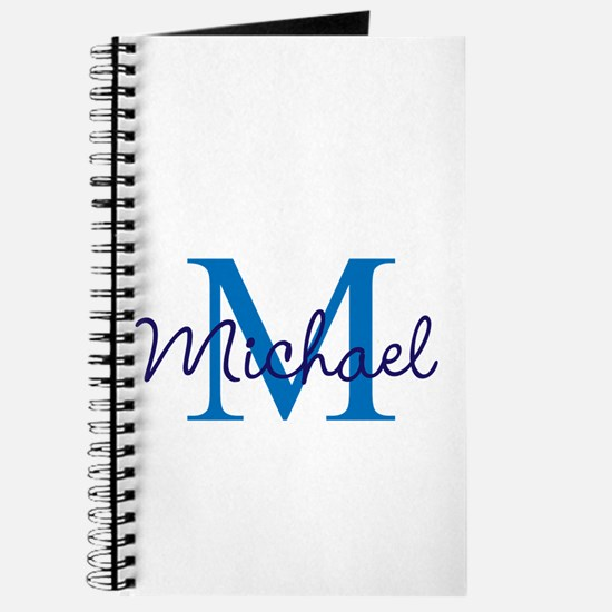 Personalize Initials and Name Journal
