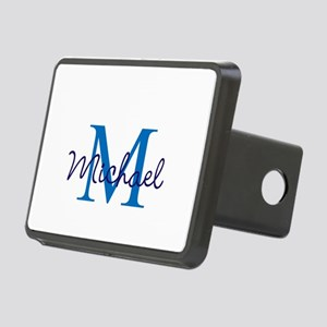 Personalize Initials and N Rectangular Hitch Cover