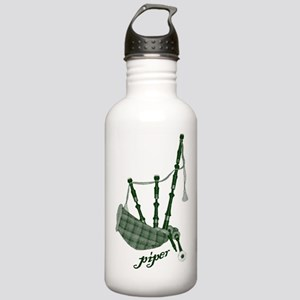 PIPER (bagpipes design!) Stainless Water Bottle 1.