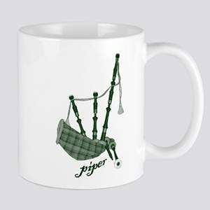 PIPER (bagpipes design!) Mug