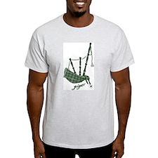 PIPER (bagpipes design!) Light T-Shirt
