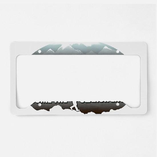 GEOCACHING License Plate Holder