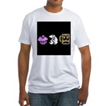 Monty Mole Coffee Fitted T-Shirt