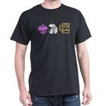 Monty Mole Coffee Dark T-Shirt