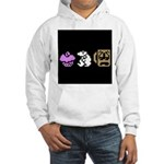 Monty Mole Coffee Hooded Sweatshirt