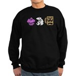 Monty Mole Coffee Sweatshirt (dark)