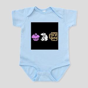Monty Mole Coffee Infant Bodysuit