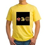Monty Mole Coffee Yellow T-Shirt