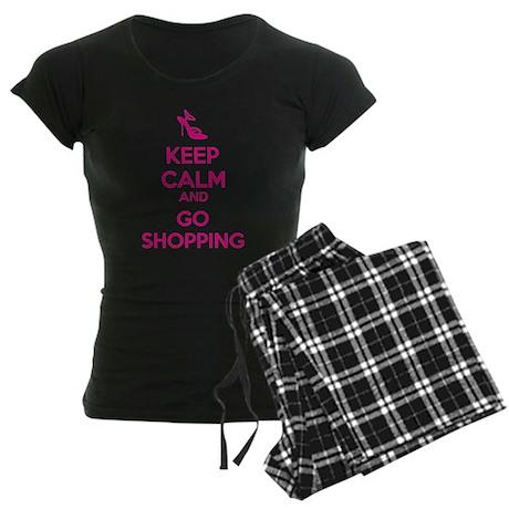 Keep calm and go shopping Women's Dark Pajamas