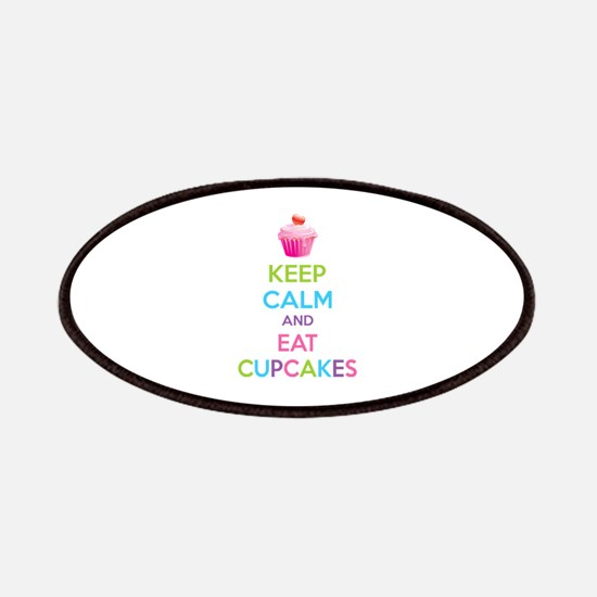 Keep calm and eat cupcakes Patches