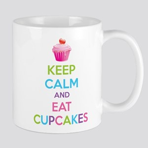 Keep calm and eat cupcakes Mug