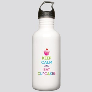 Keep calm and eat cupcakes Stainless Water Bottle