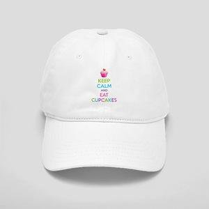 Keep Calm And Eat Cupcakes Cap