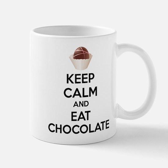 Keep calm and eat chocolate Mug