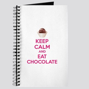 Keep calm and eat chocolate Journal
