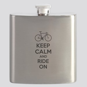 Keep calm and ride on Flask