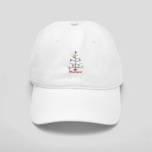 pharmacist Christmas tree stick Cap