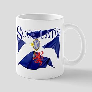 Scotland tennis flag Mug