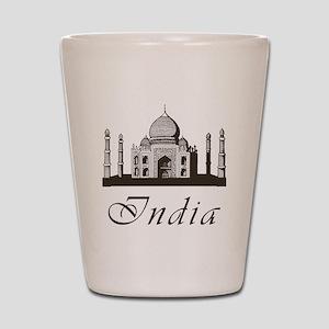 Retro India Taj Mahal Shot Glass