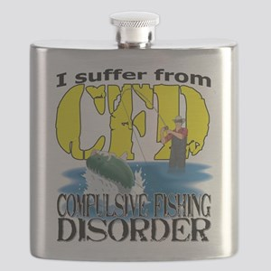 CFD - Compulsive Fishing Disorder Flask