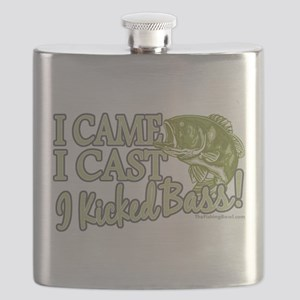 Came, Cast, Kicked Bass Flask