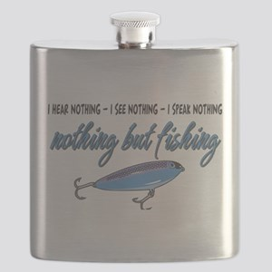 Nothing but Fishing Flask