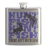 Hunt Fish Flask