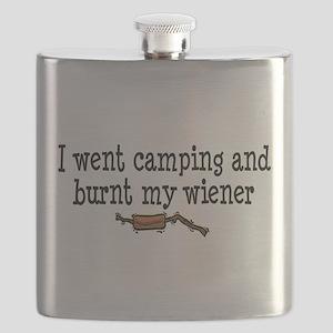 Burnt Wiener Flask