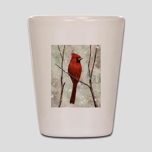 Cardinal: Shot Glass