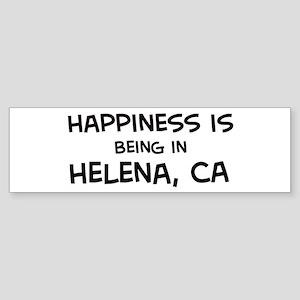 Helena - Happiness Bumper Sticker