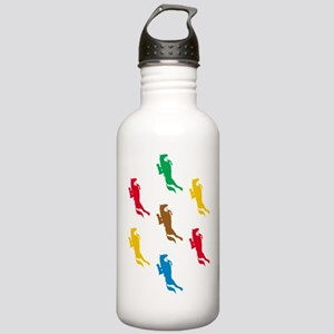 Equestrian Horses Stainless Water Bottle 1.0L