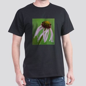 Coneflower in the Rain Dark T-Shirt