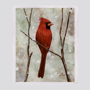 Cardinal: Throw Blanket