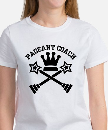 Pageant Coach (Black) Women's T-Shirt