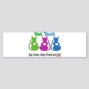 Vet Tech 1 Sticker (Bumper)