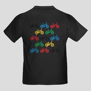 BMX Bikes Kids Dark T-Shirt