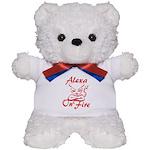 Alexa On Fire Teddy Bear