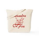 Alexandra On Fire Tote Bag