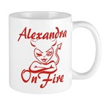 Alexandra On Fire Mug
