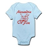 Alexandria On Fire Infant Bodysuit