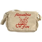 Alexandria On Fire Messenger Bag