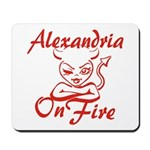 Alexandria On Fire Mousepad