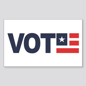 VOTE Sticker (Rectangle)