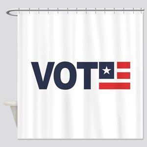 VOTE Shower Curtain
