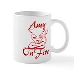 Amy On Fire Mug