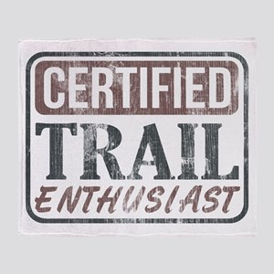 Certified Trail Enthusiast lite Throw Blanket