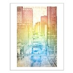 Chicago River Small Poster