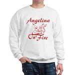 Angelina On Fire Sweatshirt